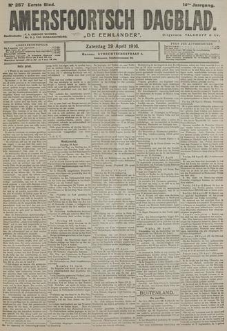Amersfoortsch Dagblad / De Eemlander 1916-04-29