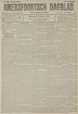 Amersfoortsch Dagblad / De Eemlander 1913-02-22