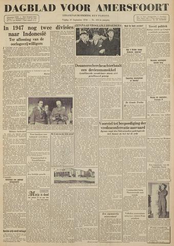 Dagblad voor Amersfoort 1946-09-27