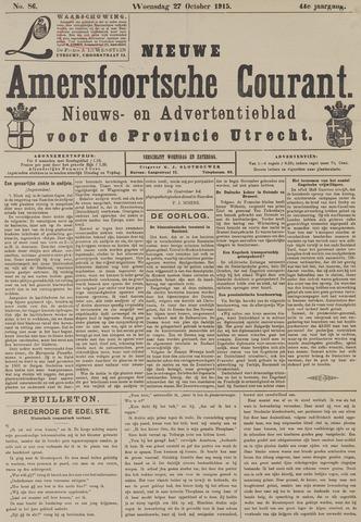 Nieuwe Amersfoortsche Courant 1915-10-27
