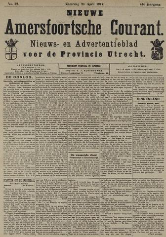 Nieuwe Amersfoortsche Courant 1917-04-21