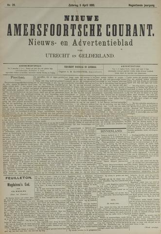 Nieuwe Amersfoortsche Courant 1890-04-05