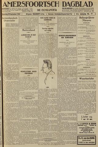 Amersfoortsch Dagblad / De Eemlander 1932-09-28