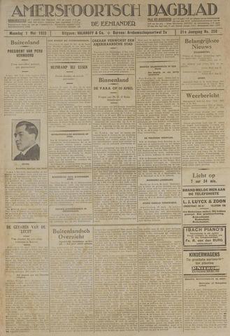 Amersfoortsch Dagblad / De Eemlander 1933-05-01