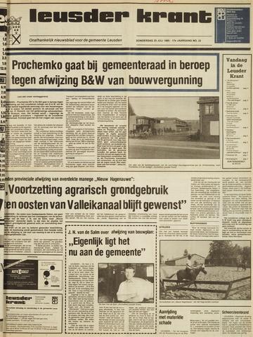 Leusder Krant 1985-07-25