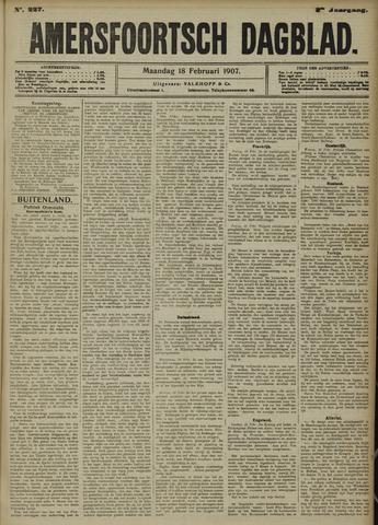 Amersfoortsch Dagblad 1907-02-18
