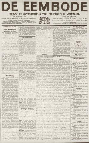 De Eembode 1914-04-24