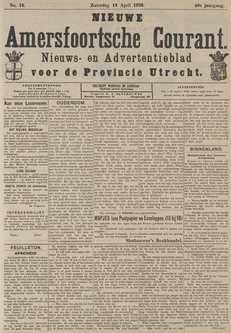Nieuwe Amersfoortsche Courant 1920-04-10