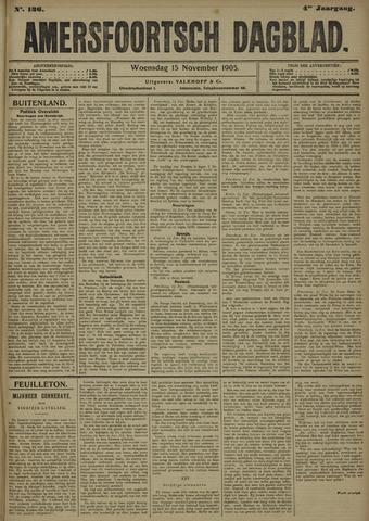 Amersfoortsch Dagblad 1905-11-15