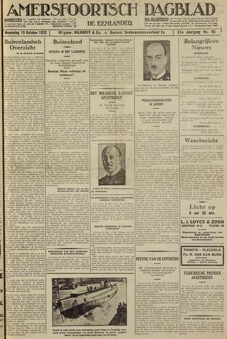 Amersfoortsch Dagblad / De Eemlander 1932-10-19