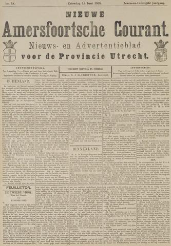 Nieuwe Amersfoortsche Courant 1898-06-18