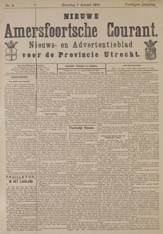 Nieuwe Amersfoortsche Courant 1911-01-07