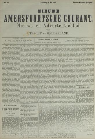 Nieuwe Amersfoortsche Courant 1892-05-14