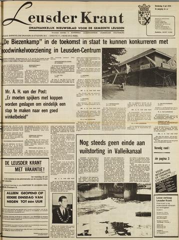 Leusder Krant 1974-07-04