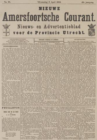 Nieuwe Amersfoortsche Courant 1913-04-09