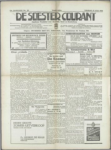 Soester Courant 1934-07-13