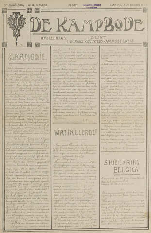 De Kampbode 1918-02-03