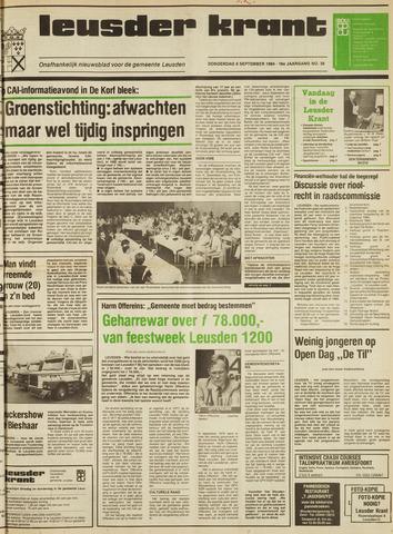 Leusder Krant 1984-09-06