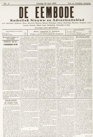 De Eembode 1907-04-20