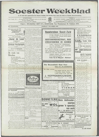 Soester Courant 1938-10-07