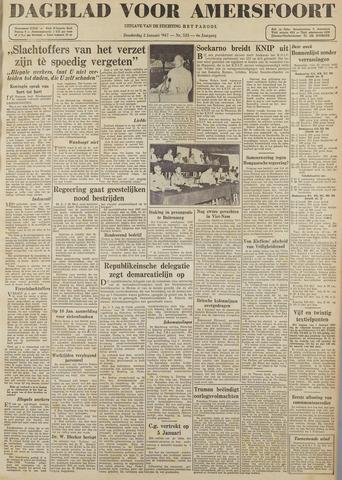 Dagblad voor Amersfoort 1947-01-02