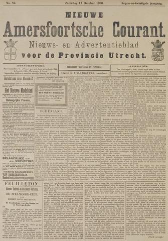 Nieuwe Amersfoortsche Courant 1900-10-13