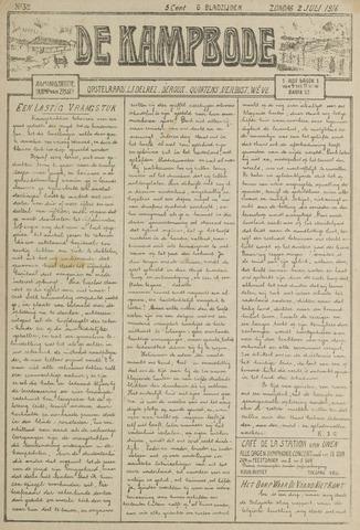 De Kampbode 1916-07-02