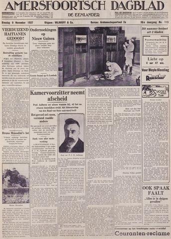 Amersfoortsch Dagblad / De Eemlander 1937-11-09