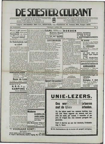 Soester Courant 1941-04-04