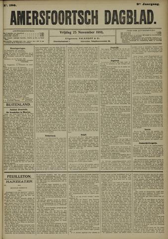 Amersfoortsch Dagblad 1910-11-25