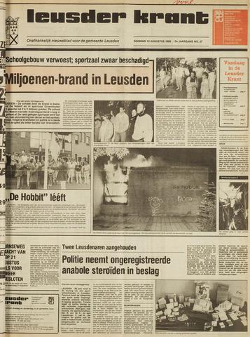 Leusder Krant 1985-08-13