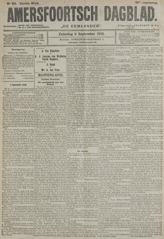 Amersfoortsch Dagblad / De Eemlander 1916-09-09