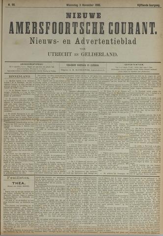Nieuwe Amersfoortsche Courant 1886-11-03