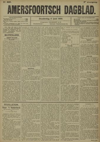 Amersfoortsch Dagblad 1909-06-17