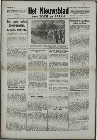 Soester Courant 1943-09-22