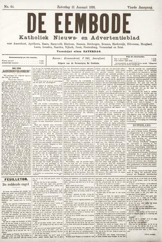 De Eembode 1891-01-31