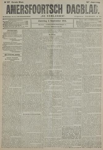 Amersfoortsch Dagblad / De Eemlander 1915-09-04