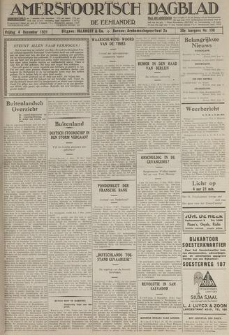 Amersfoortsch Dagblad / De Eemlander 1931-12-04