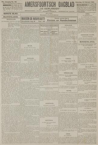 Amersfoortsch Dagblad / De Eemlander 1926-02-20