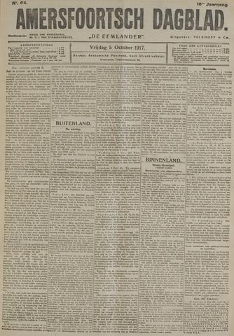 Amersfoortsch Dagblad / De Eemlander 1917-10-05