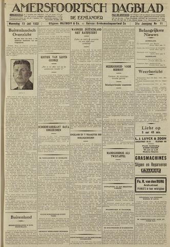 Amersfoortsch Dagblad / De Eemlander 1932-07-13