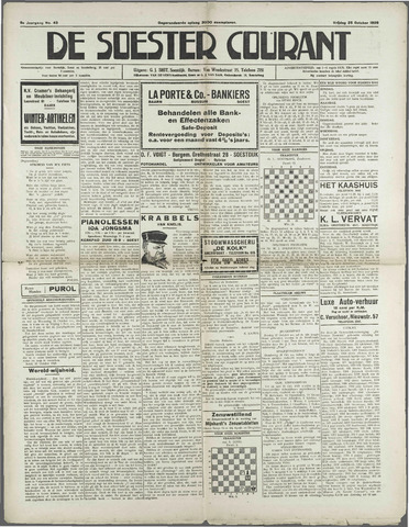 Soester Courant 1929-10-25