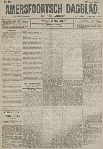 Amersfoortsch Dagblad / De Eemlander 1914-05-15