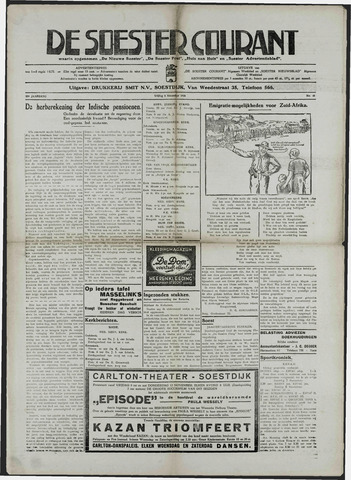 Soester Courant 1936-11-06