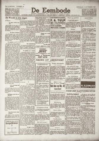 De Eembode 1937-10-05