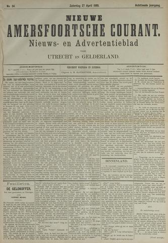Nieuwe Amersfoortsche Courant 1889-04-27