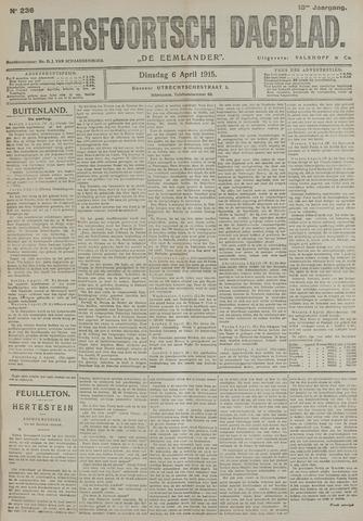 Amersfoortsch Dagblad / De Eemlander 1915-04-06