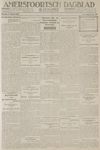 Amersfoortsch Dagblad / De Eemlander 1929-02-11