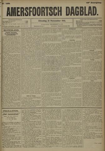 Amersfoortsch Dagblad 1911-11-21