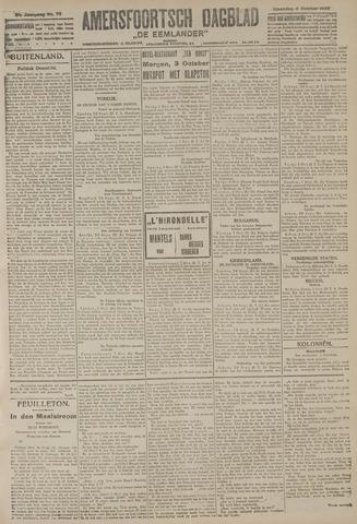 Amersfoortsch Dagblad / De Eemlander 1922-10-02